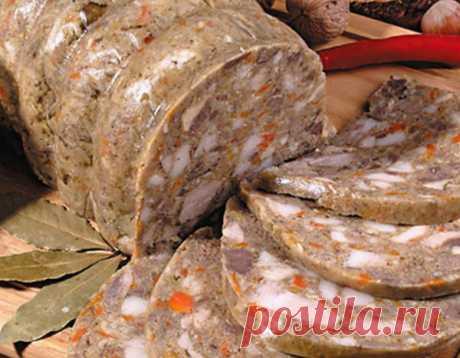 El modo simple de la preparación del embutido de casa de hígado: ¡le gusta esta receta! | cada día | Yandeks Dzen
