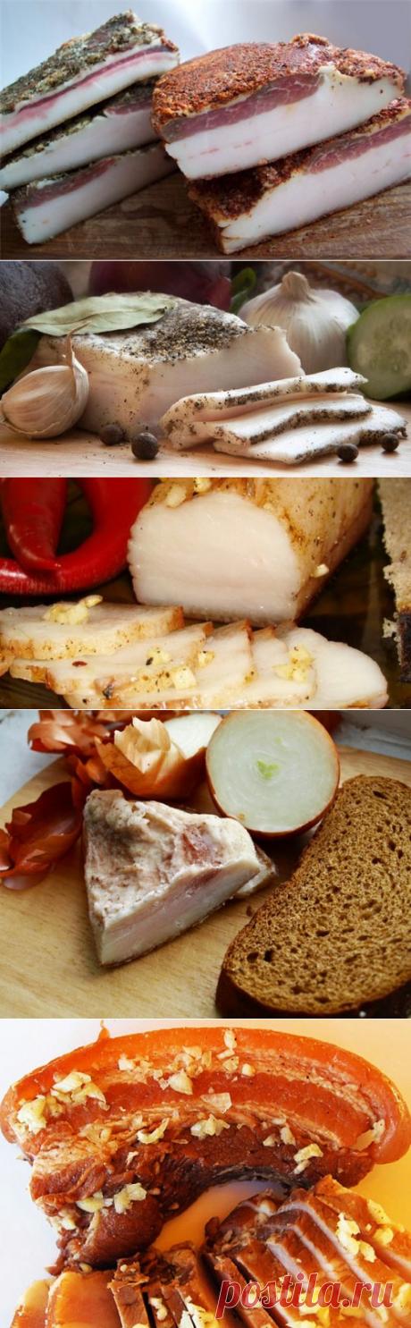 Сало – рецепты соления в домашних условиях / Простые рецепты