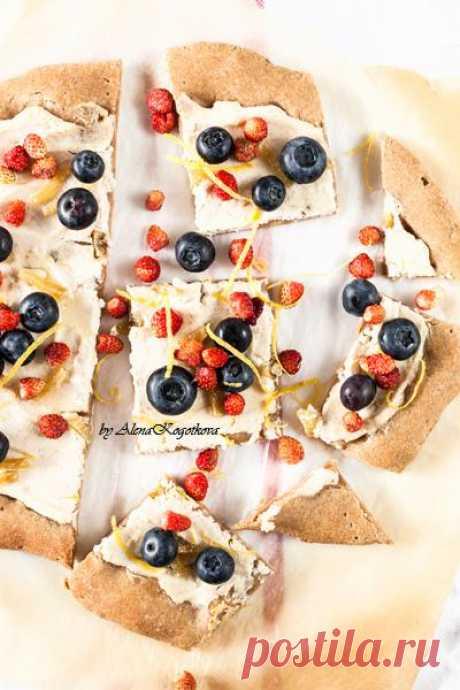 Очень ягодная пицца!