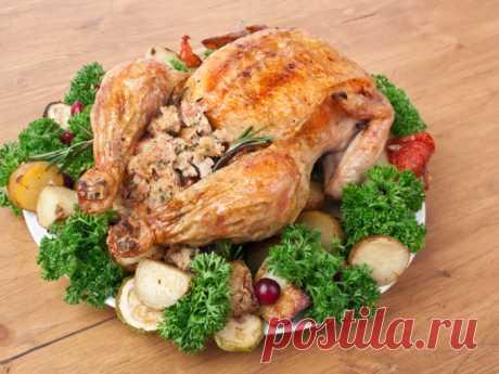 Фаршированная курица по рецепту Фаины Раневской - Smak.ua