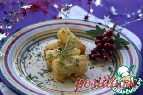 Праздничный слоеный картофель - кулинарный рецепт