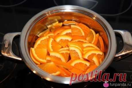 Апельсиновые цукаты-конфи • Домик Панды