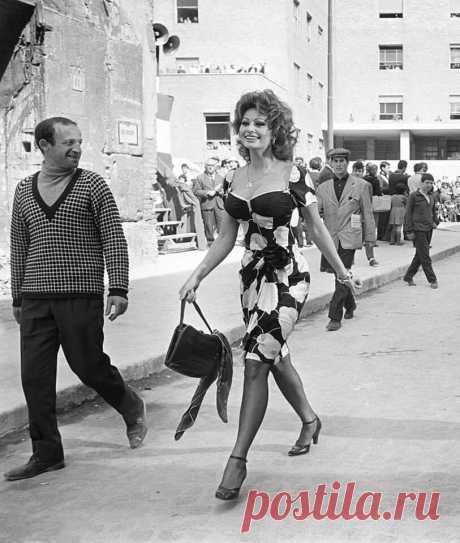 """""""Женское платье, как забор из колючей проволоки, должно служить своей цели, не загораживая вид"""" Софи Лорен"""