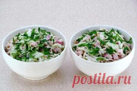 Салат по-берлински - пошаговый рецепт с фото