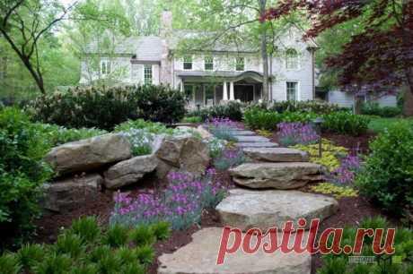 Вам будут завидовать соседи! Самые яркие и необычные садовые дорожки с фото примеров