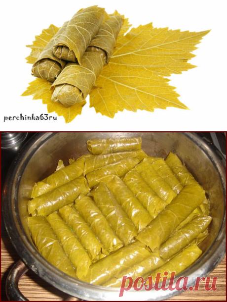 Маринованные виноградные листья - Perchinka63