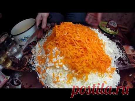 Вкусная Маринованная Капуста за сутки в Горячем Маринаде.Pickled Cabbage Fast.