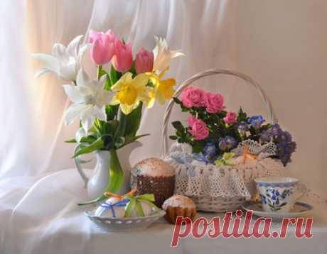 Со светлым днем Пасхи! — сбор пазла — Пазлы онлайн