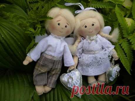 Ангелочки на счастье от Елены Корсуновой