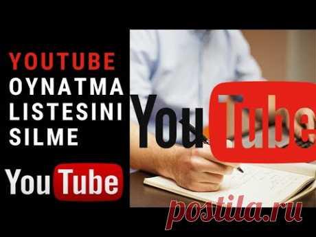 Youtube Oynatma Listesini Silme 2020 Youtube oynatma listesi silme, youtube oynatma listesi nasıl silinir, youtube oynatma listesi düzenleme,#youtubeoynatmalistesisilme, #youtube, #youtubeayarları,