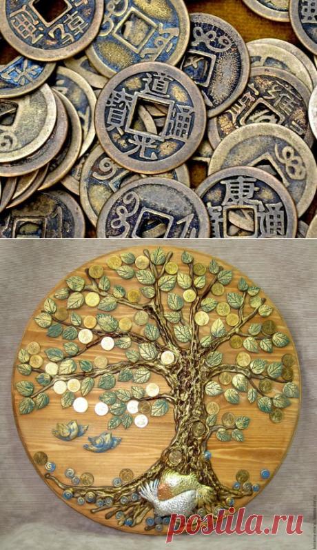 Как превратить обычную монету всильный денежный талисман