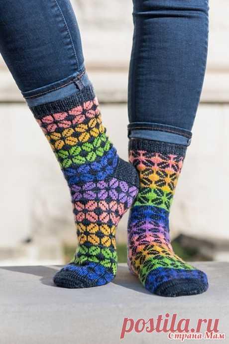 Вяжем носочки из остатков пряжи - Хенд-Мейд   HANDMADE - Страна Мам