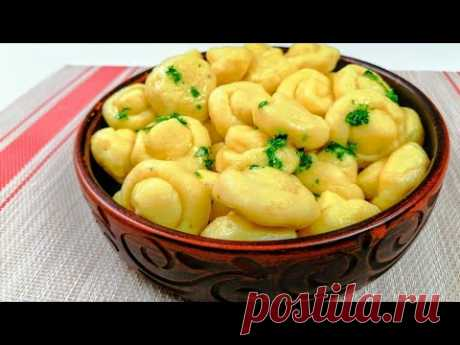 Вареники - «грибочки». Любимые рецепты из картофеля