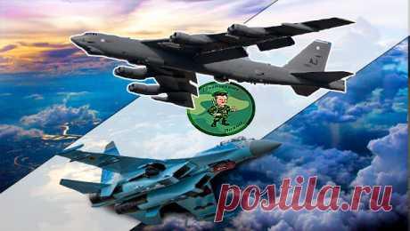 Как русские перехватили американский бомбардировщик у берегов Чёрного моря | Бывалый вояка | Яндекс Дзен