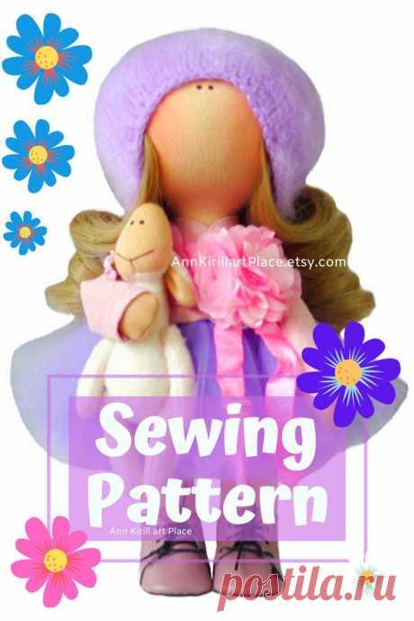 Tilda Doll DIY Pattern How to Sew Cloth Doll Handmade Doll   Etsy