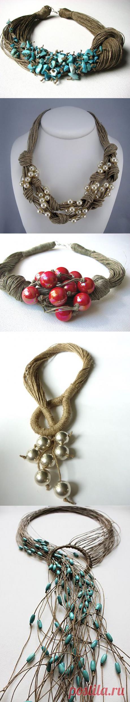 Необыкновенные украшения с бусинами