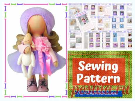 Tilda Doll DIY Pattern, How to Sew Cloth Doll, Handmade Doll Sewing Pattern PDF, Interior Doll Tutorial by Natalia Pe Handmade Doll Sewing Pattern PDF by master Natalia Pe  Pattern uncludes full Doll and Cloth sewing tutorial. ~ ~ ~ ~ ~ ~ ~ ~ ~ ~ ~ ~ ~ ~ ~ ~ ~ ~ ~ ~ ~ ~ ~ ~ Pattern does not include hat and shoes. ~ ~ ~ ~ ~ ~ ~ ~ ~ ~ ~ ~ ~ ~ ~ ~ ~ ~ ~ ~ ~ ~ ~ ~  Pattern is for 20 cm (7.8 inch) interior doll by