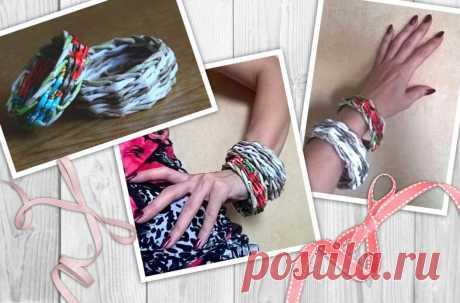 Браслет, плетённый из бумажных трубочек, мастер-класс – HandMade39.ru