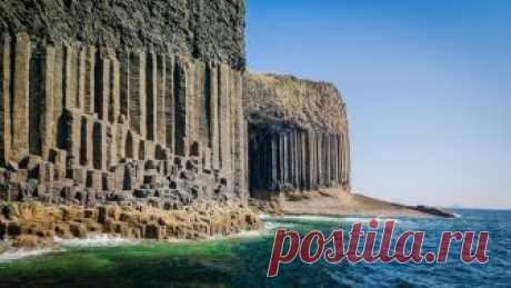 Шотландия:Поющая пещера Фингала!