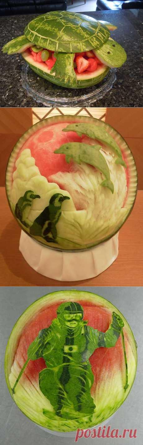 Резьба про арбузу