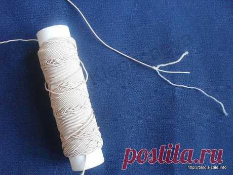 """Блог """"О шитье…"""" » Как шить ниткой резинкой?"""