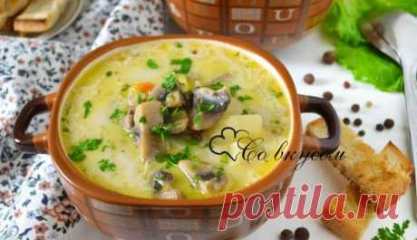Recipe for cream cheese soup with mushrooms. Mushroom and Cream Cheese Soup