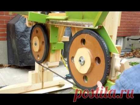 Bandsaw sawmill misadventures part 1