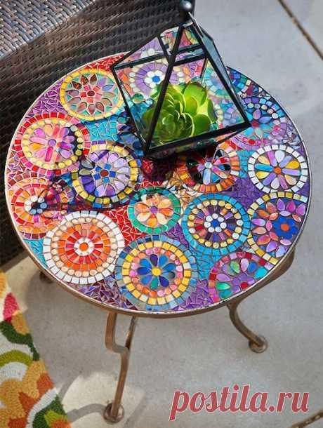 Мозаики в интерьере квартиры или дома