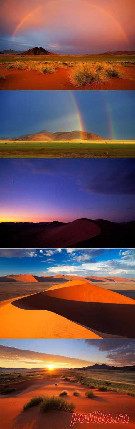 Фантастические пейзажи Намибии :  НОВОСТИ В ФОТОГРАФИЯХ