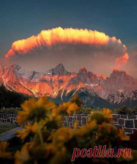 Los Alpes de dolomita