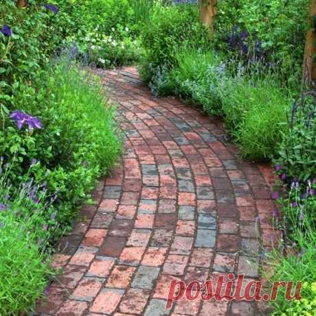 Идеи и варианты обустройства садовых дорожек на даче