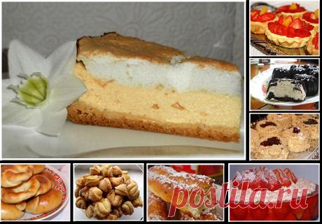 Вкуснейшая выпечка и творожные десерты