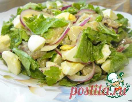 """Салат """"Отпад"""" – кулинарный рецепт"""