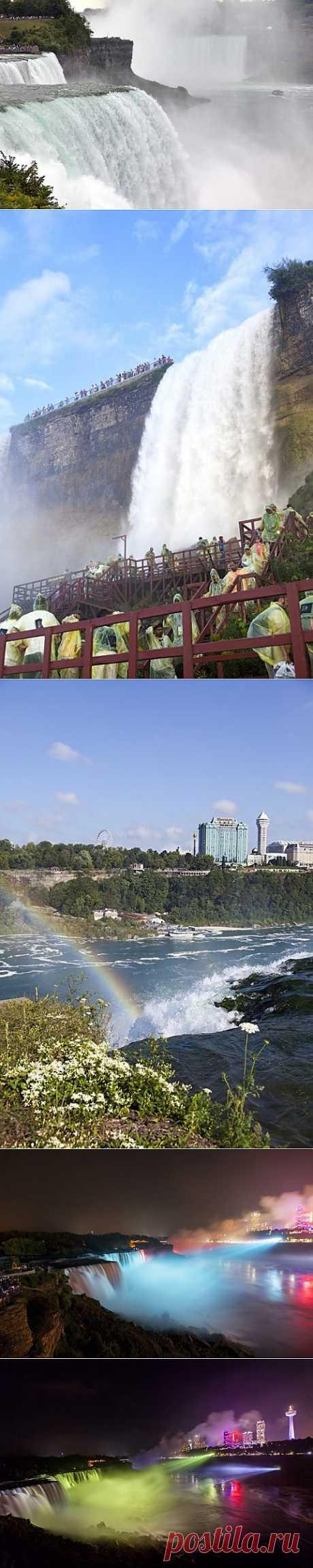 (+1) тема - Удивительные фотографии Ниагарского водопада | Улетные картинки