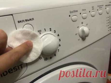 Как быстро сделать снова белым пластик на стиральной машине и плите.