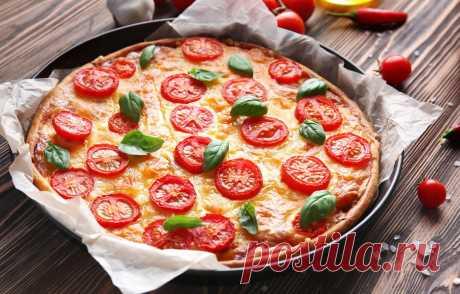3 простых и быстрых рецепта пиццы на сковороде • INMYROOM FOOD