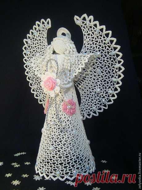 Элегантный ангел – купить в интернет-магазине на Ярмарке Мастеров с доставкой Элегантный ангел - купить или заказать в интернет-магазине на Ярмарке Мастеров | Если прислушаться к музыке сердца,  И на…