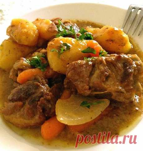 Mutton in the crock-pot - Culinary recipes from the Cheerful Giraffe