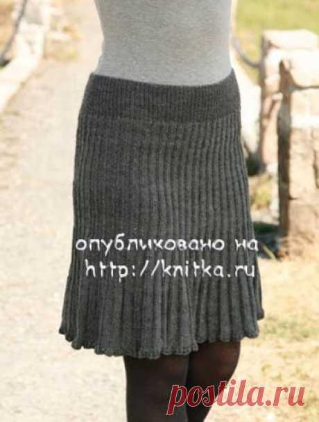Вязаная спицами юбка, Вязание для женщин