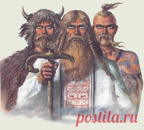 Кто они такие - эти древние русы? И почему  издавна существует мнение, что они  - не славяне?