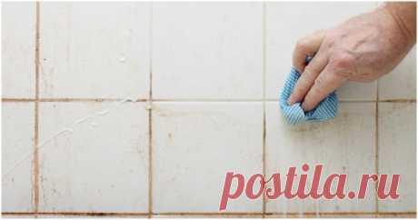 Простой домашний трюк для моментальной очистки ванной комнаты ...