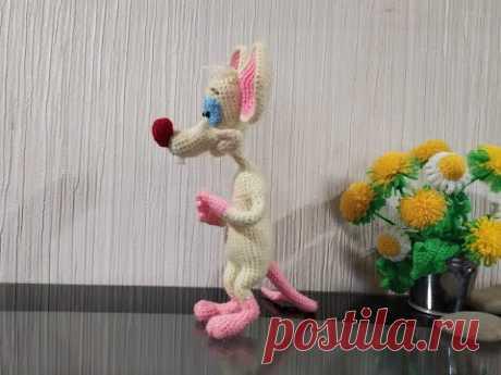 """Мышонок Пинки из """"Пинки и Брейн"""", ч.3. Pinky Mouse from Pinky and Brain, р.3."""