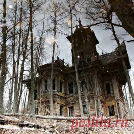 Два удивительных затерянных дома в Костромской области - МирТесен