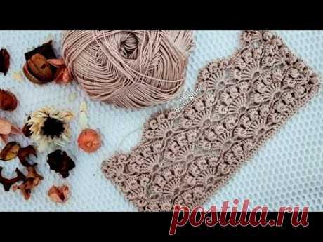 COMO É DESENVOLVIDO PARA O QUE VOCÊ GOSTARÁ DESTE EXEMPLO? #Bromstick #shellpattern # weave #crochet