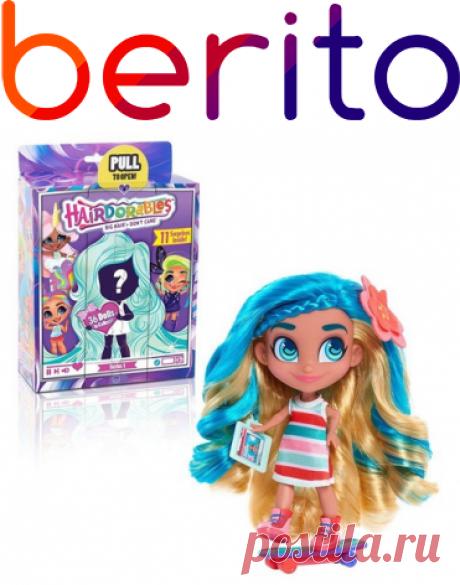 Кукла Hairdorables Surprise! - Хэрдораблс Сюрприз 1 серия Hairdorables  для девочки 4527695, купить за 3 349 руб. в интернет-магазине Berito