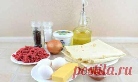 Мясной пирог из лаваша, рецепт с фото | cookmen.ru