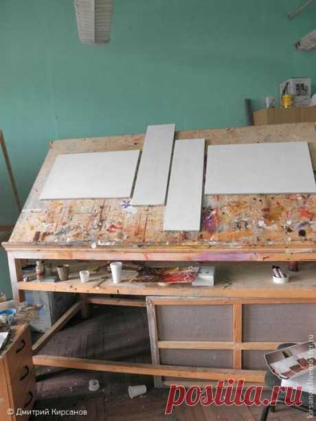 Как написать абстрактную картину   Журнал Ярмарки Мастеров