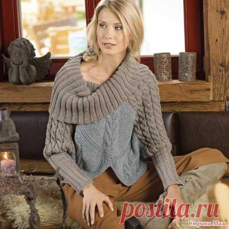 Подборка оригинальных пуловер