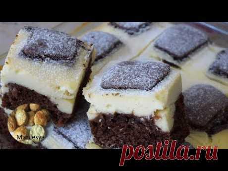 """Вкуснейший и необычный праздничный пирог! ПИРОГ СТЁГАНОЕ ОДЕЯЛО/CHOCOLATE  CAKE """"BLANKET"""" - YouTube"""