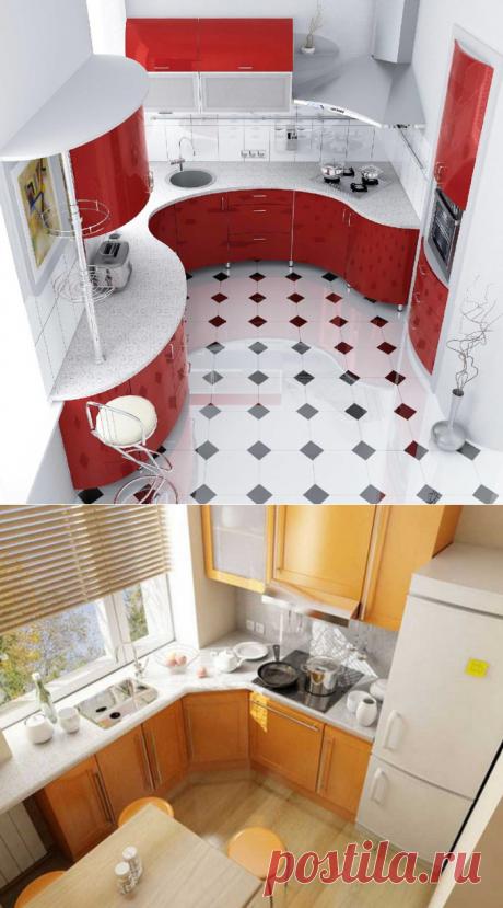 Дизайн для маленькой кухни: идеи